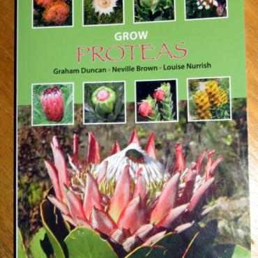 Grow Proteas front cover - Kirstenbosch Gardening Series by Graham Duncan, Neville Brown, Louise Nurrish